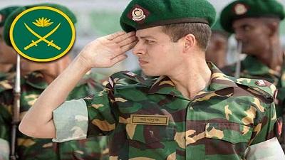 সেনাবাহিনীতে চাকরির সুযোগ