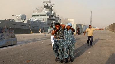 লেবাননে বিস্ফোরণ: বাংলাদেশ নৌবাহিনীর ২১ সদস্য আহত