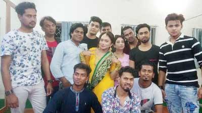 'বাংলা চলচ্চিত্রে দক্ষতার সঙ্গে কাজ করে সুনাম বয়ে আনব'