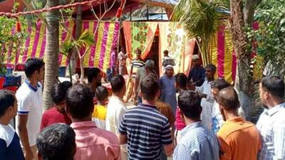 গাইবান্ধায় বিয়ের অনুষ্ঠানে দুই প্রবাসী, সাদুল্লাপুর লকডাউন