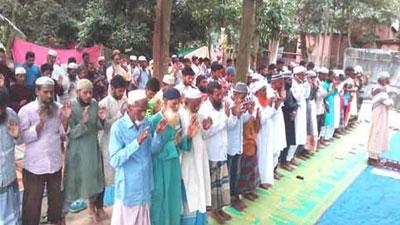 লক্ষ্মীপুরে ১০ গ্রামে ঈদুল ফিতর উদযাপিত