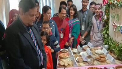 এক্সিম ব্যাংক কৃষি বিশ্ববিদ্যালয়ে পিঠা উৎসব অনুষ্ঠিত