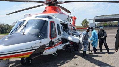করোনা রোগী বহন করবে বিমান বাহিনীর বিশেষ হেলিকপ্টার