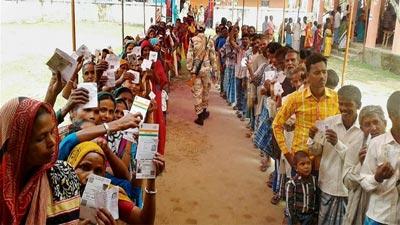 ভারতের লোকসভা নির্বাচনে শেষ দফায় ভোটগ্রহণ রোববার