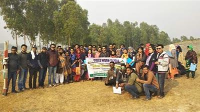 নদী গবেষণায় জগন্নাথ বিশ্ববিদ্যালয় শিক্ষার্থীরা