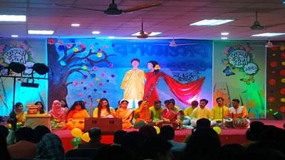 জবির ব্যবস্থাপনা বিভাগের বসন্তোৎসব অনুষ্ঠিত