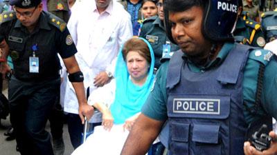খালেদা জিয়া ভালোই আছেন, ভুগছেন শুধু গিরার ব্যথায়