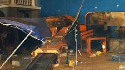 ছবির শুটিংয়ে ক্রেন ভেঙে পড়ে ৩ জন নিহত