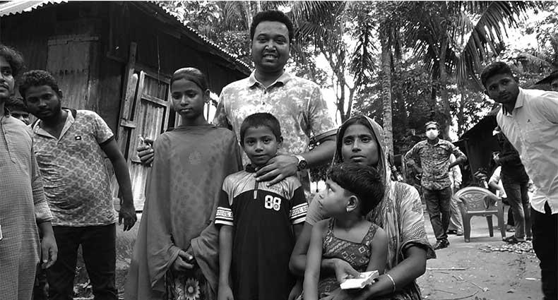 প্রতিবন্ধী বাড়িতে ছাত্রলীগ নেতা রাব্বানী