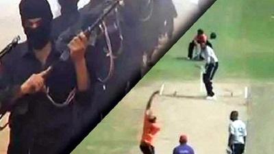 পাকিস্তানে ক্রিকেট ম্যাচে সন্ত্রাসী হামলা