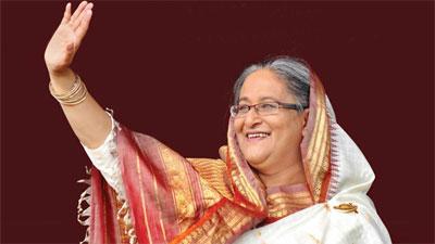'অর্থনৈতিক মুক্তির নেতৃত্ব দিচ্ছেন শেখ হাসিনা'