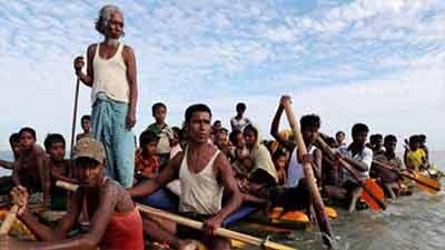 মিয়ানমারে শতাধিক রোহিঙ্গা গ্রেপ্তার