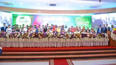 দরিদ্র মেধাবী শিক্ষার্থীদের বৃত্তি প্রদান করল শাহ্জালাল ইসলামী ব্যাংক
