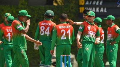 নিউজিল্যান্ড সফরে যাচ্ছে বাংলাদেশ অনূর্ধ্ব-১৯ দল