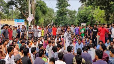 রাবির ছাত্র আন্দোলনে যোগ দিয়েছে ছাত্রলীগ