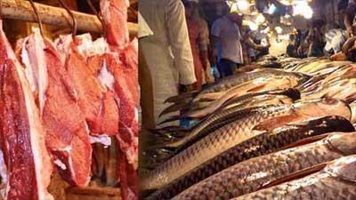 বাড়তি দামেই বিক্রি হচ্ছে মাছ-মাংস
