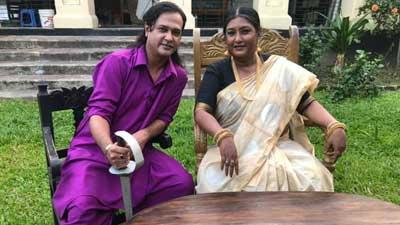 নিমা রহমানের সঙ্গে আসিফ আকবর