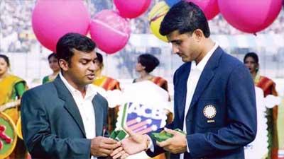 বাংলাদেশের অভিষেক টেস্ট খেলা ক্রিকেটারদের সংবর্ধনা দেবেন সৌরভ