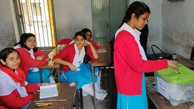 প্রাথমিক বিদ্যালয়ে নেতা নির্বাচনে ভোট দিচ্ছে ৭৭ লাখ শিক্ষার্থী