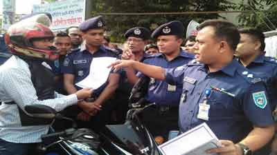 রংপুর বিভাগে ১ ডিসেম্বর থেকে নতুন সড়ক আইন কার্যকর