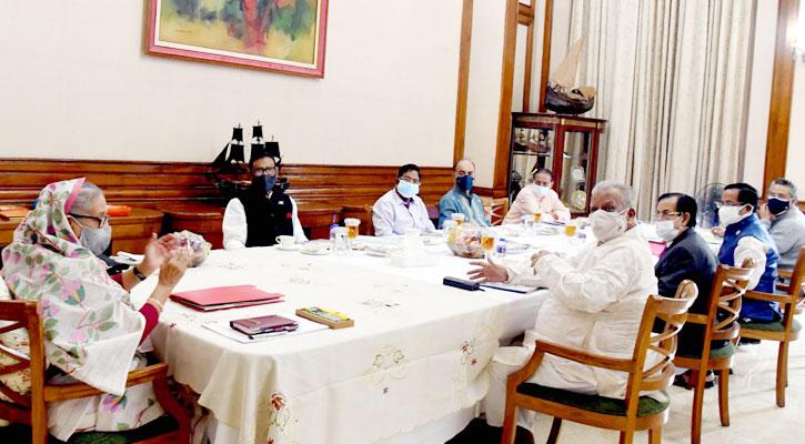 প্রধানমন্ত্রী শেখ হাসিনা শনিবার (১১ সেপ্টেম্বর) গণভবনে বাংলাদেশ আওয়ামী লীগের স্থানীয় সরকার জনপ্রতিনিধি মনোনয়ন বোর্ডের সভায় সভাপতিত্ব করেন