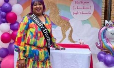 ১৭ বছর পর ভাঙল সংসার, খুশিতে ডিভোর্স পার্টি দিলেন নারী