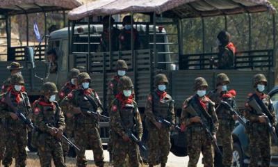আরেকটি নৃশংসতার প্রস্তুতি নিচ্ছে মিয়ানমার সেনাবাহিনী
