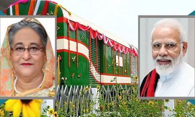 ঢাকা-জলপাইগুড়ি ট্রেন সার্ভিস উদ্বোধন করবেন হাসিনা-মোদি
