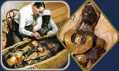 ৩৩০০ বছর পর রাজার মমি খুলে সবাই অবাক