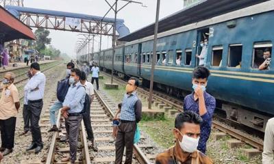 গাজীপুর থেকে ঢাকায় ট্রেন চলাচল শুরু