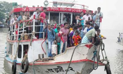 চাঁদপুর-নারায়নগঞ্জ রুটে লঞ্চ চলাচল বন্ধ