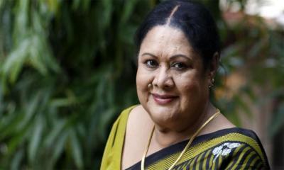 কিংবদন্তি চলচ্চিত্র অভিনেত্রী সুজাতা হাসপাতালে
