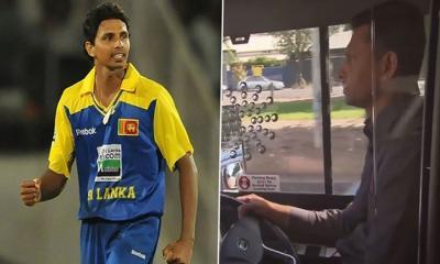 বিশ্বকাপ মাতানো তারকা ক্রিকেটার এখন বাস ড্রাইভার