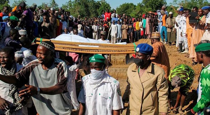 নাইজেরিয়ায় গলা কেটে ১১০ কৃষককে হত্যা