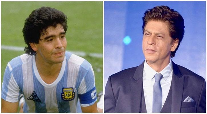 ফুটবলকে সুন্দর করেছেন ম্যারাডোনা: শাহরুখ খান