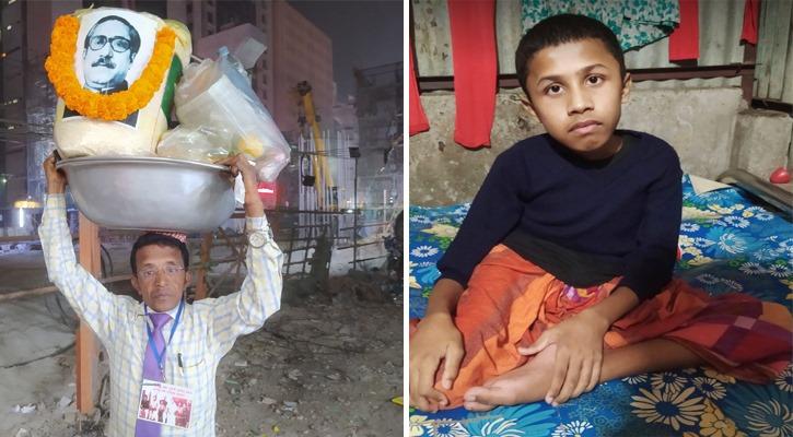 একবুক 'কষ্ট' নিয়ে রাজধানী ছাড়ছেন স্মার্ট ঝালমুড়ি ওয়ালা