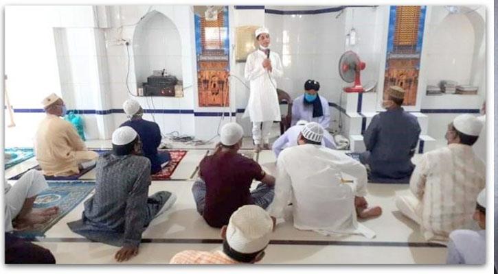 নামাজের আগে-পরে মসজিদে সভা-সমাবেশে নিষেধাজ্ঞা