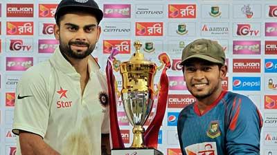 দর্শক বাড়াতে পেছাল বাংলাদেশ-ভারত টেস্ট
