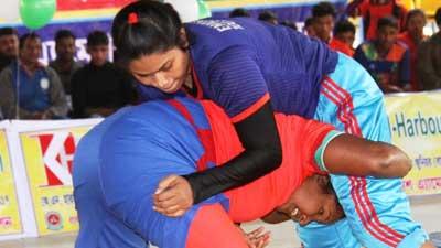 জাতীয় জুনিয়র কুস্তি প্রতিযোগিতা শুরু