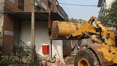 তেজগাঁওয়ে ৫ শতাধিক অবৈধ স্থাপনা উচ্ছেদ
