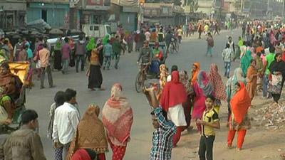 'দাবি-দাওয়া' সম্পর্কে জানে না আশুলিয়ার শ্রমিকরা!