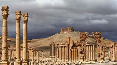 সিরিয়ার প্রাচীন শহর পালমিরা আবারও আইএস'র দখলে
