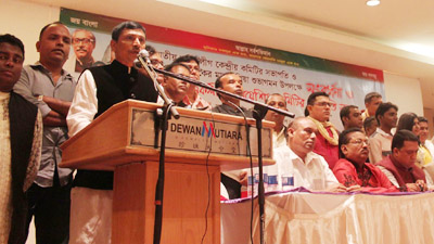 'অর্থনীতির ঊর্ধ্বগতি ধ্বংস করতেই জঙ্গি হামলা'