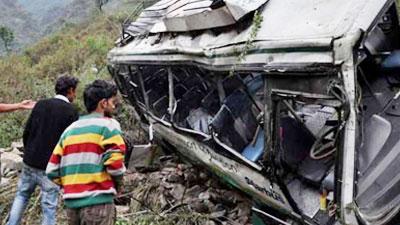 ভারতের হিমাচল প্রদেশে বাস দুর্ঘটনায় নিহত ১৪, আহত ৪১