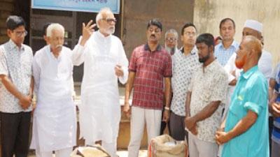 চাউল গম সংগ্রহে শুধু কাগজ বেচা কেনা চলবে না : ভূমিমন্ত্রী