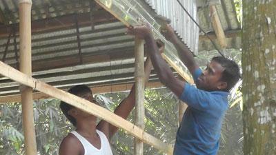 আতঙ্ক কেটে গেছে নাসিরনগরের হিন্দু পল্লীতে