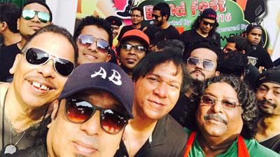 আজম খানের গানে শুরু 'ব্যান্ড ফেস্ট-২০১৬'