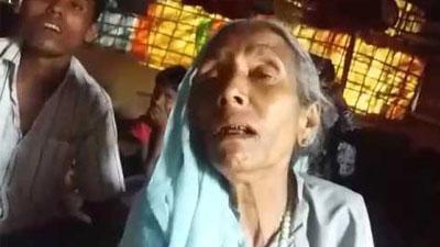 'আট ছেলেকে জবাই করেছে মিয়ানমার বাহিনী'