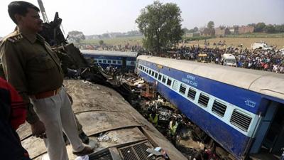 ভারতে রেল দুর্ঘটনা: মৃতের সংখ্যা বেড়ে ১২০