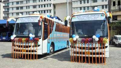 ঢাকা-খুলনা-কলকাতা রুটে বাস উদ্বোধন